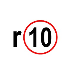 r10 small logo